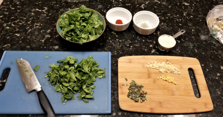Pack Pantry: Power Green Soup